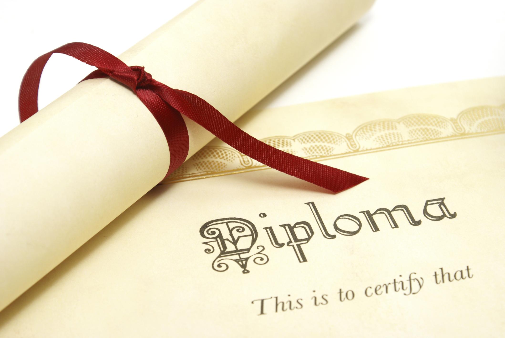 Avviso rilascio diploma di maturità