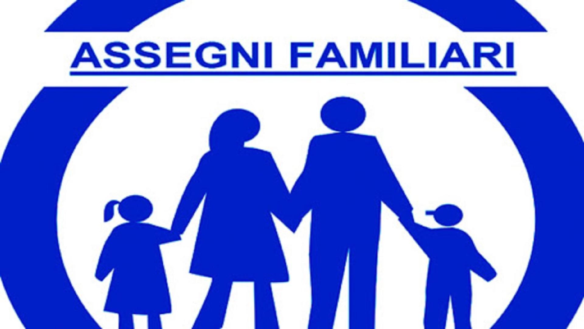 Nota MEF assegni familiari